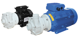 Tapflo's CTP plastic centrifugal pumps are designed for aggressive liquids containing solid particles.