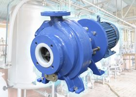 The Ultrachem pumps are suitable for use in hazardous conditions in chemical processing and water treatment.