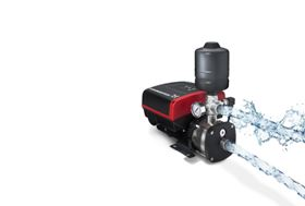 Grundfos launches compact CMBE booster pump