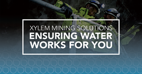 Xylem exhibited its holistic smart water management solutions at MINExpo in Las Vegas.