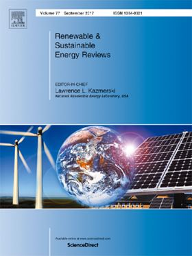 Elsevier journal Renewable & Sustainable Energy Reviews.