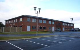 Atlantic Pumps' new head office in Staveley, Derbyshire.