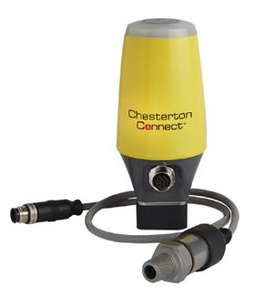 Chesterton Connect is a 24/7 equipment monitoring sensor that can be used with any rotating equipment such as pumps, mixers, gear boxes, motors, and fans.
