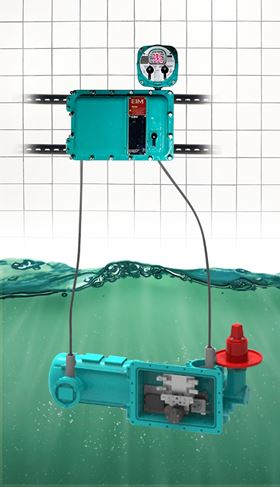 The EIM Aquanaught submersible electric actuator can operate for seven days under 150 feet of dirty water.