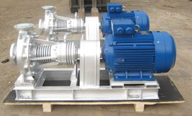 MZT's end suction centrifugal pumps