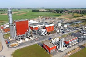 EDF Energy's combined-cycle gas turbine (CCGT) power plant at Bouchain in northern France is one of the most energy-efficient in the world, achieving an overall efficiency level of 62.22%.