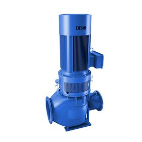 Desmi DSL double suction pump designed specifically for seawater intake.