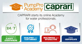 The new project, designed in-house at Caprari, is based on multimedia learning modules covering theory and practice.