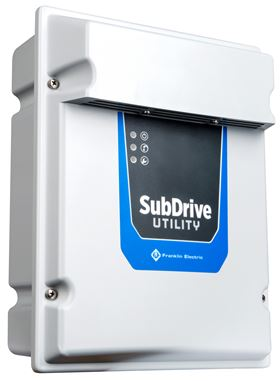 Franklin Electric has improved its SubDrive Utility variable frequency drive