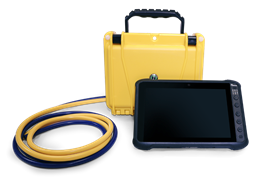 The PLR system consists of the Remote Measurement System (RMS), a handheld portable PC and handset software.