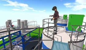 Bilfinger Tebodin's Industrial 360° scanning and software reproduces facilities in a photorealistic environment.