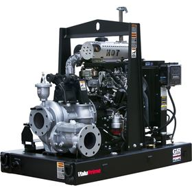 The 6 in Gorman-Rupp ValuPrime pump is designed for dewatering applications.