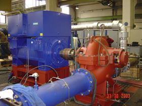 Variable speed pump type RDLO for use in Al Hunayy