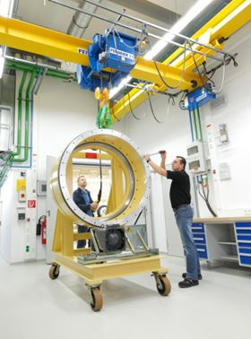 Schaeffler's new acoustic testing facility.