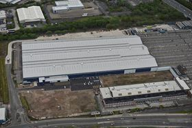An aerial view of the Manchester plant.