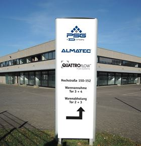 Almatec's new HQ in Duisburg, Germany.