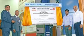 The opening of the EKKI-MCET International Water Technology Centre.