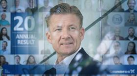 Poul Due Jensen, Grundfos CEO and group president.