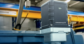 The GMH system uses advanced wireless sensors to monitor pumps and system and data is transferred to a secure Cloud platform.