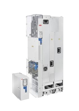 The new ABB drive has harmonic mitigation built-in, including an active supply unit and integrated low harmonic line filter.