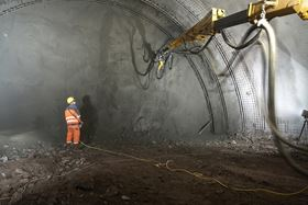 Dewatering in a German tunnel project.