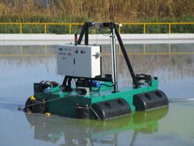 A Dragflow dredge.