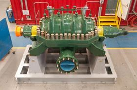A HPDM pump from Sulzer.