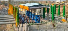 The Mettur Surplus Water Scheme project in Tamil Nadu, India, will divert surplus water to help farmers with irrigation.