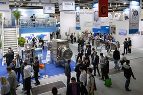Visitors at ACHEMA 2015 (Courtesy of DECHEMA / Jean-Luc Valentin)