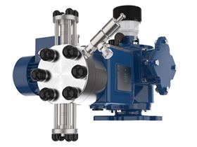A SEKO double diaphragm pump.