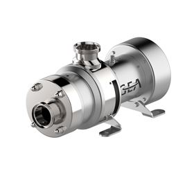 The GEA Hilge Novatwin enables safe operation with low pulsation and low noise levels at high product viscosities.