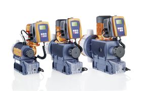 ProMinent is exhibiting the new control-type motor-driven metering pump Sigma.