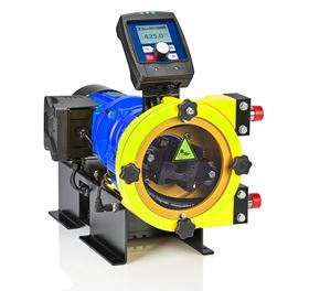 The unit uses peristaltic pump technology and so guarantees precise, linear and repeatable metering in all process conditions.