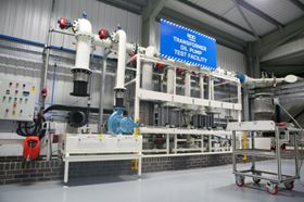 SPP's transformer oil pump test facility.