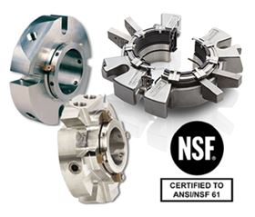 Chesterton's range of NSF 61 certified mechanical seals now includes all its single cartridge seals and its split seals.
