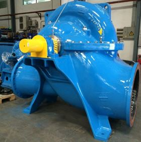 Andritz Hydro will provide eleven double-flow split-case pumps for water supply in Hohhot, North China. Photo: Andritz.