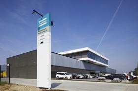 Atlas Copco's new facility in Boom, Belgium.
