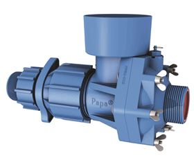 Papa Pumps require no electricity, diesel or any other fuel and work with the power of flowing water.