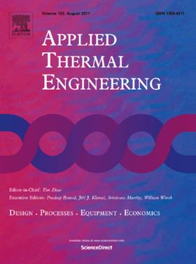 Elsevier journal Applied Thermal Engineering.