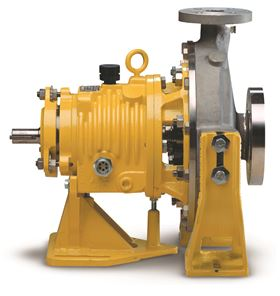 Blackmer's System One high temperature series pumps can exceed the 400°F (204°C) standard temperature limit of conventional centrifugal pumps.