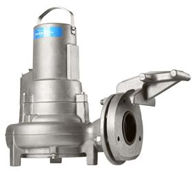 The Flygt N3069 stainless steel submersible pump.