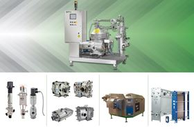 A Seital separator and other SPX Flow products.