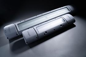 The SafeSite GRP LED Linear can withstand ambient temperatures between -40°C and +65°C.