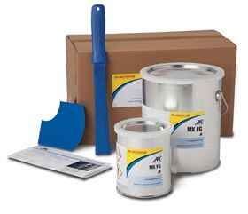 The ARC MX FG is a trowel applied ceramic-reinforced epoxy that offers advanced protection.