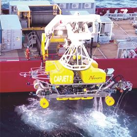 The cable technology needed from Norway to the Danish-German sea border comes from the Nexans Group, a company operating globally. Dredgers are used in order to lay the cables safely on the sea bed.