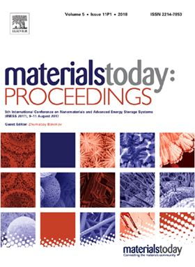 Materials Today: Proceedings