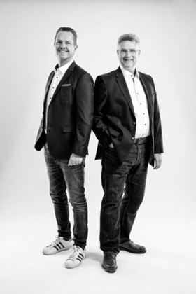 SL Pumping Solutions founders Olaf Lüdke (left) and Thomas Schäfer (right).