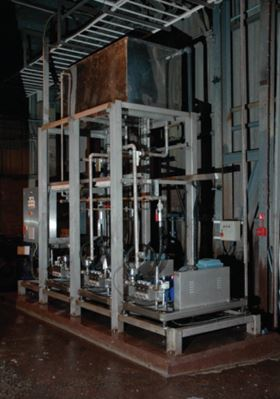 HJ Enthoven & Sons installed and commissioned Cat Triplex Pumps to meet pressure and flow performance requirements.