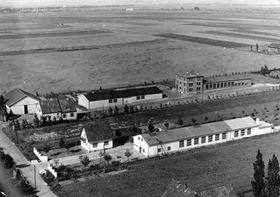 The production facility of Bungartz centrifugal pumps when it first opened, 70 years ago.