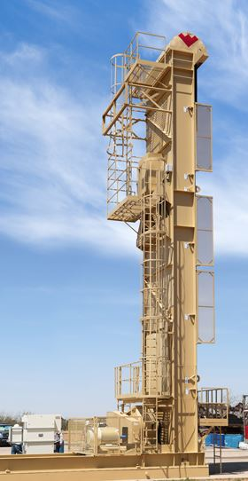 Weatherford's new Rotaflex long-stroke pumping unit improves artificial lift efficiency.